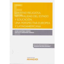 Libertad religiosa, neutralidad del estado y educación. Una perspectiva europea y latinoamericana