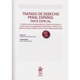 Tratado de Derecho Penal Español. Parte Especial Tomo V.