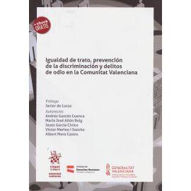 Igualdad de trato, prevención de la discriminación y delitos de odio en la Comunitat Valenciana