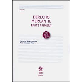 Derecho Mercantil. Parte Primera 2019