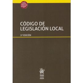 Código de legislación local 2019
