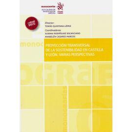 Proyección transversal de la sostenibilidad en Castilla y León. Varias perspectivas