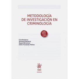 Metodología de investigación en criminología