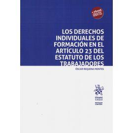 Derechos individuales de formación en el artículo 23 del estatuto de los trabajadores