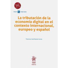 La tributación de la economía digital en el contexto internacional, europeo y español