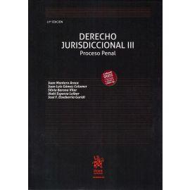 Derecho Jurisdiccional III. Proceso Penal 2019
