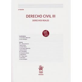 Derecho Civil III. Derechos Reales 2019