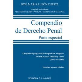 Compendio de Derecho Penal. Parte Especial 2019