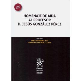 Homenaje de Aida al Profesor D. Jesús González Pérez