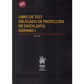 Libro de test delegado de protección de datos (DPO). Dominio I