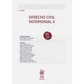 Derecho civil patrimonial II 2019