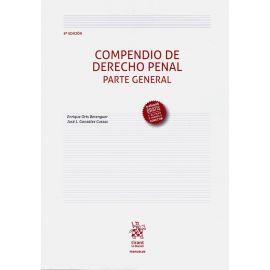 Compendio de Derecho penal. Parte general 2019