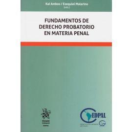 Fundamentos de derecho probatorio en materia penal