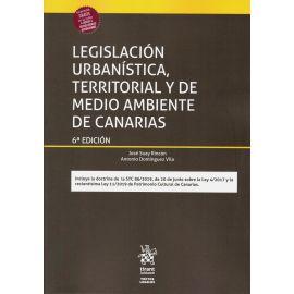 Legislación urbanística, territorial y de medio ambiente de Canarias