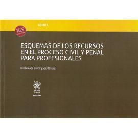 Esquemas de los recursos en el proceso civil y penal para profesionales. Tomo L