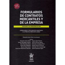 Formularios de contratos mercantiles y de la empresa. Con acceso a los formularios on-line