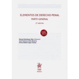 Elementos de Derecho Penal. Parte General. 2020