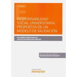 Responsabilidad social universitaria: propuesta de un modelo de validación
