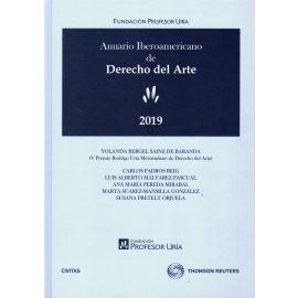 Anuario iberoamericano de derecho del arte 2019