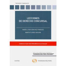 Lecciones de derecho concursal. Conforme al nuevo texto refundido de la ley concursal