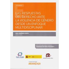 Las respuestas del derecho ante la violencia de género desde un enfoque multidisciplinar
