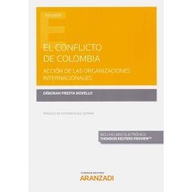 El conflicto de Colombia. Acción de las organizaciones internacionales