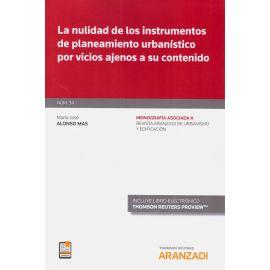 Nulidad de los instrumentos de planeamiento urbanístico por vicios ajenos a su contenido