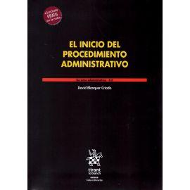 El inicio del procedimiento administrativo. Los actos administrativos 3.2