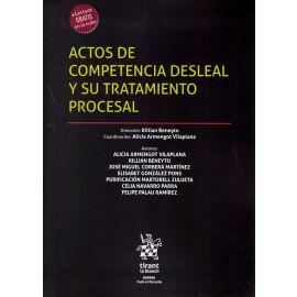 Actos de competencia desleal y su tratamiento procesal