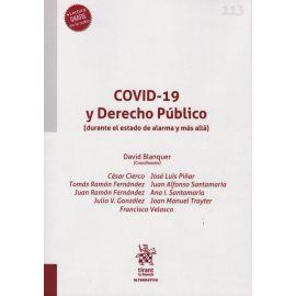 COVID-19 y Derecho público (durante el estado de alarma y más allá)