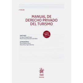 Manual de Derecho privado del turismo 2020