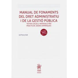 Manual de Fonaments del Dret Administratiu i de la Gestió Pública