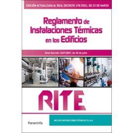 RITE. Reglamento de instalaciones térmicas en los edificios