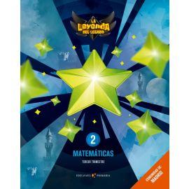 Matemáticas 2 EP. Comunidad de Madrid. Trimestres
