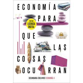 Economía 4. Con licencia digital