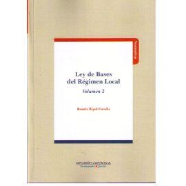Ley de Bases del Régimen Local Vol. 2