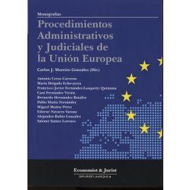 Procedimientos Administrativos y Judiciales de la Unión Europea. REIMPRESIÓN 2014