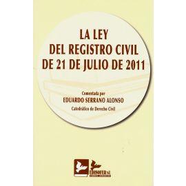 La ley del registro civil de 21 de julio de 2011