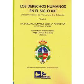 Derechos humanos en el Siglo XXI. Tomo III. En la commemoración del 70 aniversario declaración Los derechos humanos desde la perspectiva política y social. Edición Rústica
