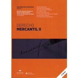 Derecho Mercantil, II 2016