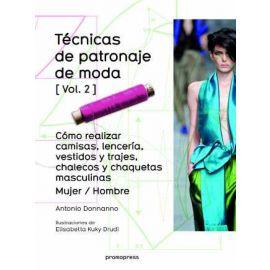 Técnicas de Patronaje de Moda, II
