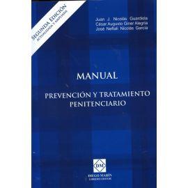 Manual Prevención y Tratamiento Penitenciario 2016