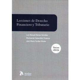 Lecciones de Derecho Financiero y Tributario 2016