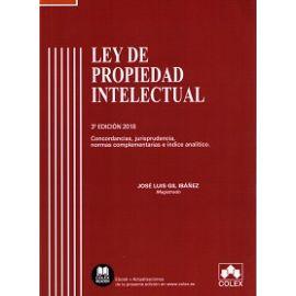 Ley de Propiedad Intelectual 2018 Comentarios, Concordancias y Jurisprudencia. Índice Analítico.