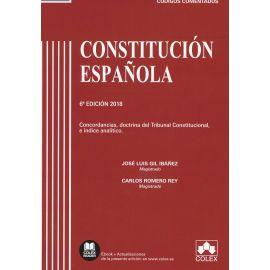 Constitución Española 2018 Concordancias, Doctrina del Tribunal Constitucional
