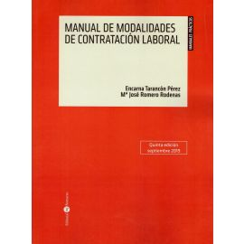 Manual de modalidades de contratación laboral 2019