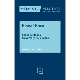 Memento Mementix Fiscal Foral. Especialidades Navarra y País Vasco. Online