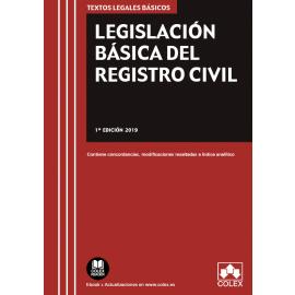Legislación Básica del Registro Civil 2019