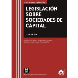 Legislación sobre Sociedades de Capital 2019