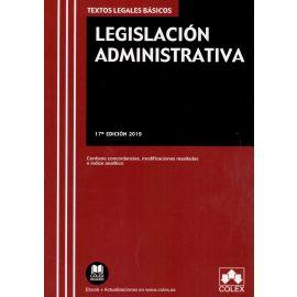 Legislación Administrativa 2019